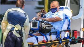 Carlos Bernardes passa mal e vai parar no hospital em Melbourne