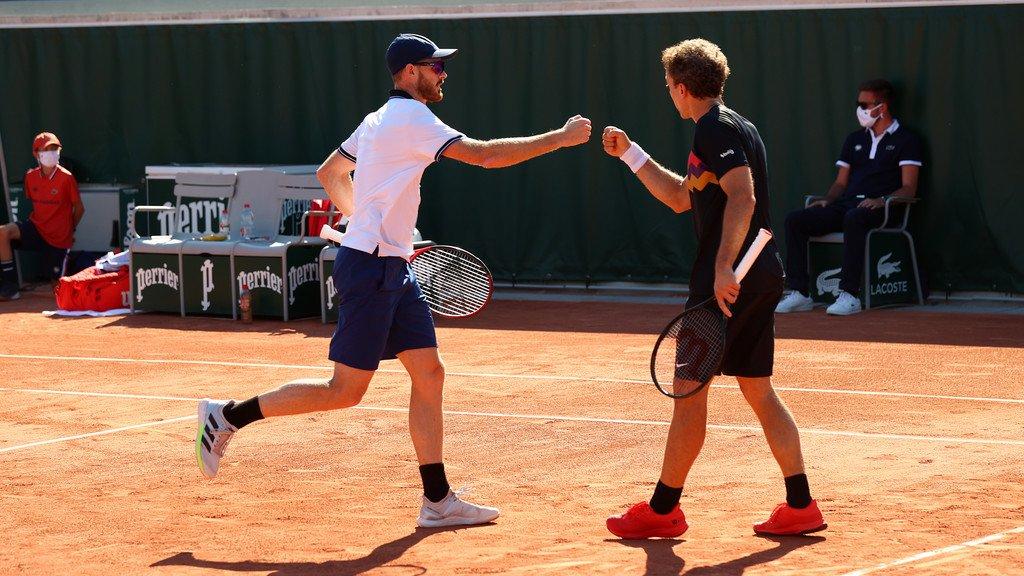 Bruno Soares e Jamie Murray vencem e estão nas oitavas de Roland Garros