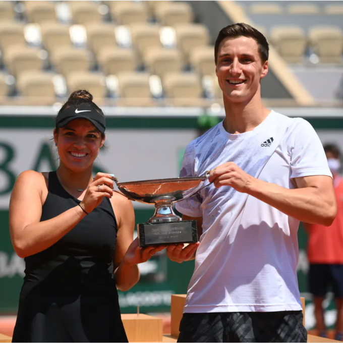 Krawczyk e Salisbury conquistam a chave de duplas mistas de Roland Garros