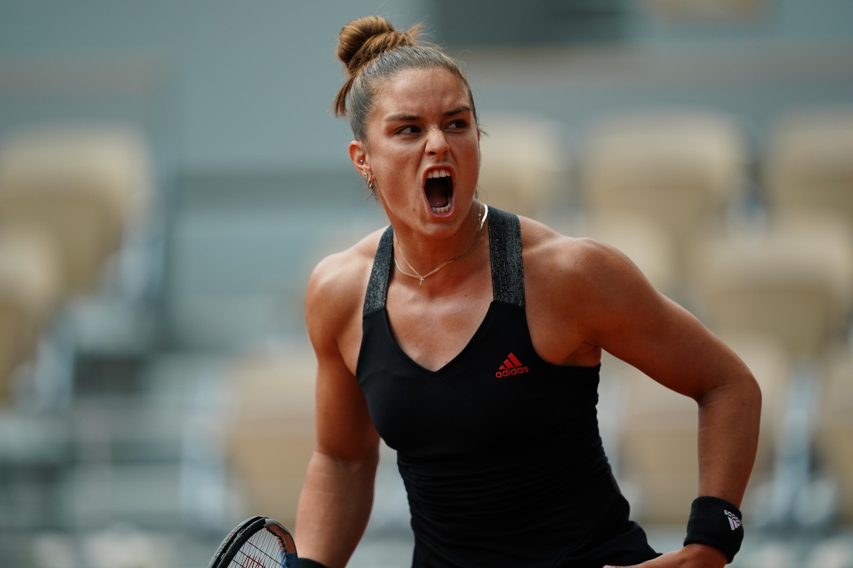 Maria Sakkari impede o bi de Swiatek e avança em Roland Garros