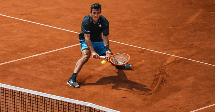 Cristian Garin é destaque no ATP de Gstaad