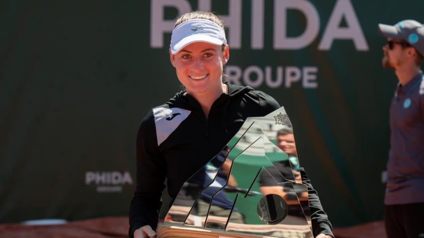 Tamara Zidansek conquista o WTA na Suíça