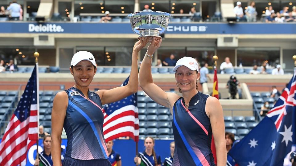 Stosur e Zhang conquistam a chave feminina do US Open