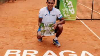 Thiago Monteiro conquista o Challenger de Braga