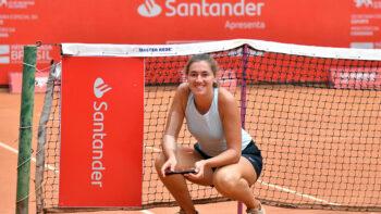 Italiana Miriana Tona conquista a Copa Feminina de Tênis no retorno ao esporte depois de dois anos